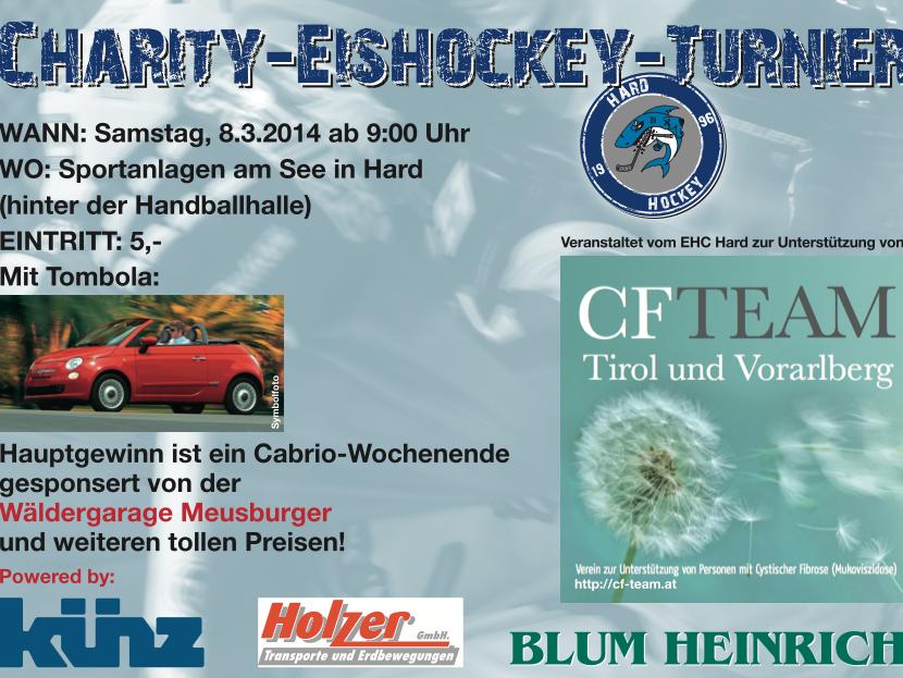 Erstes Charity Eishockeyturnier EHC HARD