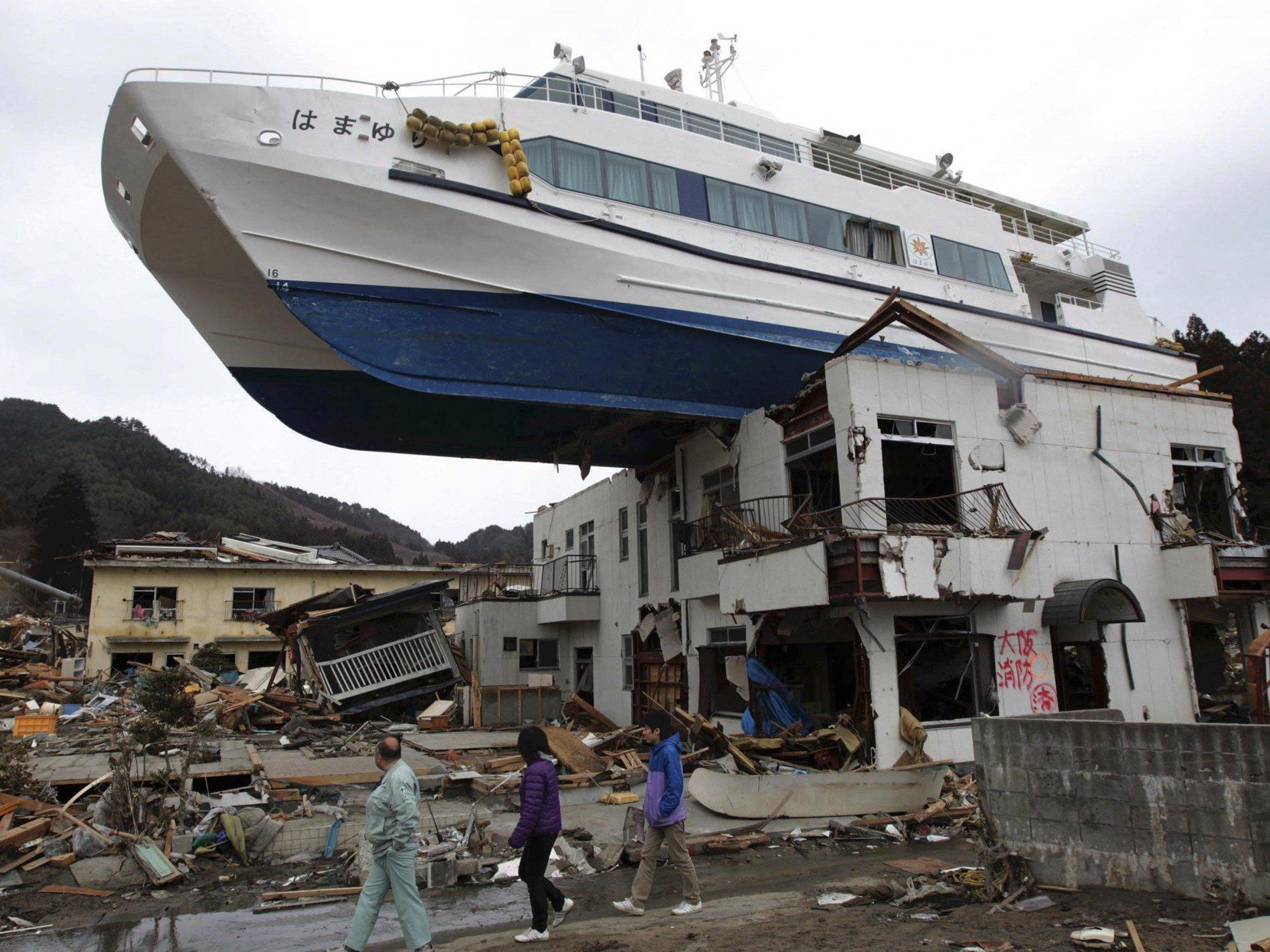 Eltern eines Tsunami-Opfers aus Otsuchi erhielten einen Brief ihrer verstorbenen Tochter.