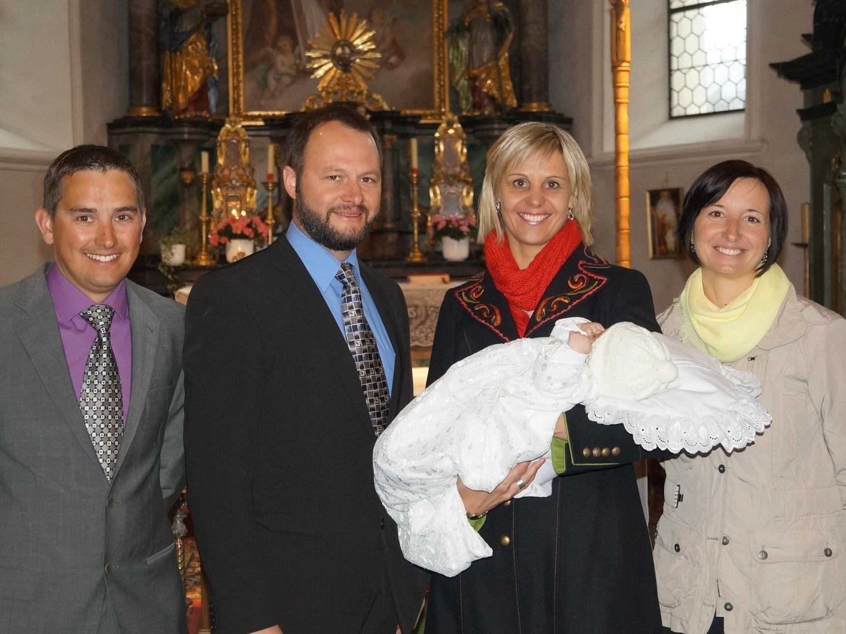 Taufe von Matilda Schöllhorn.