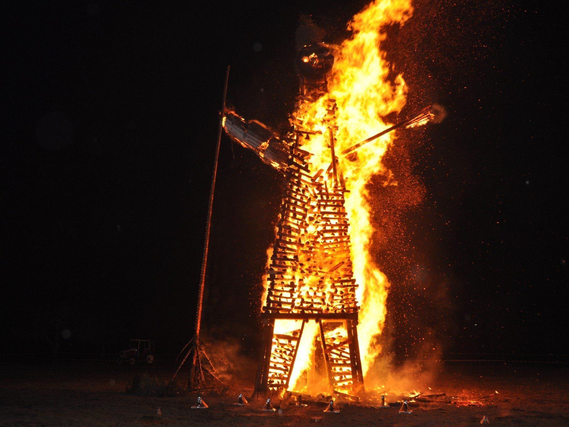 Im ganzen Vorderland lodert am kommenden Wochenende das Funkenfeuer.