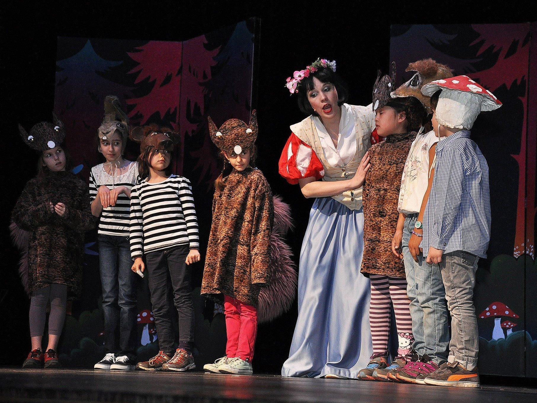 Die Vorstellung bot ein zauberhaftes Märchenerlebnis für die ganze Familie.
