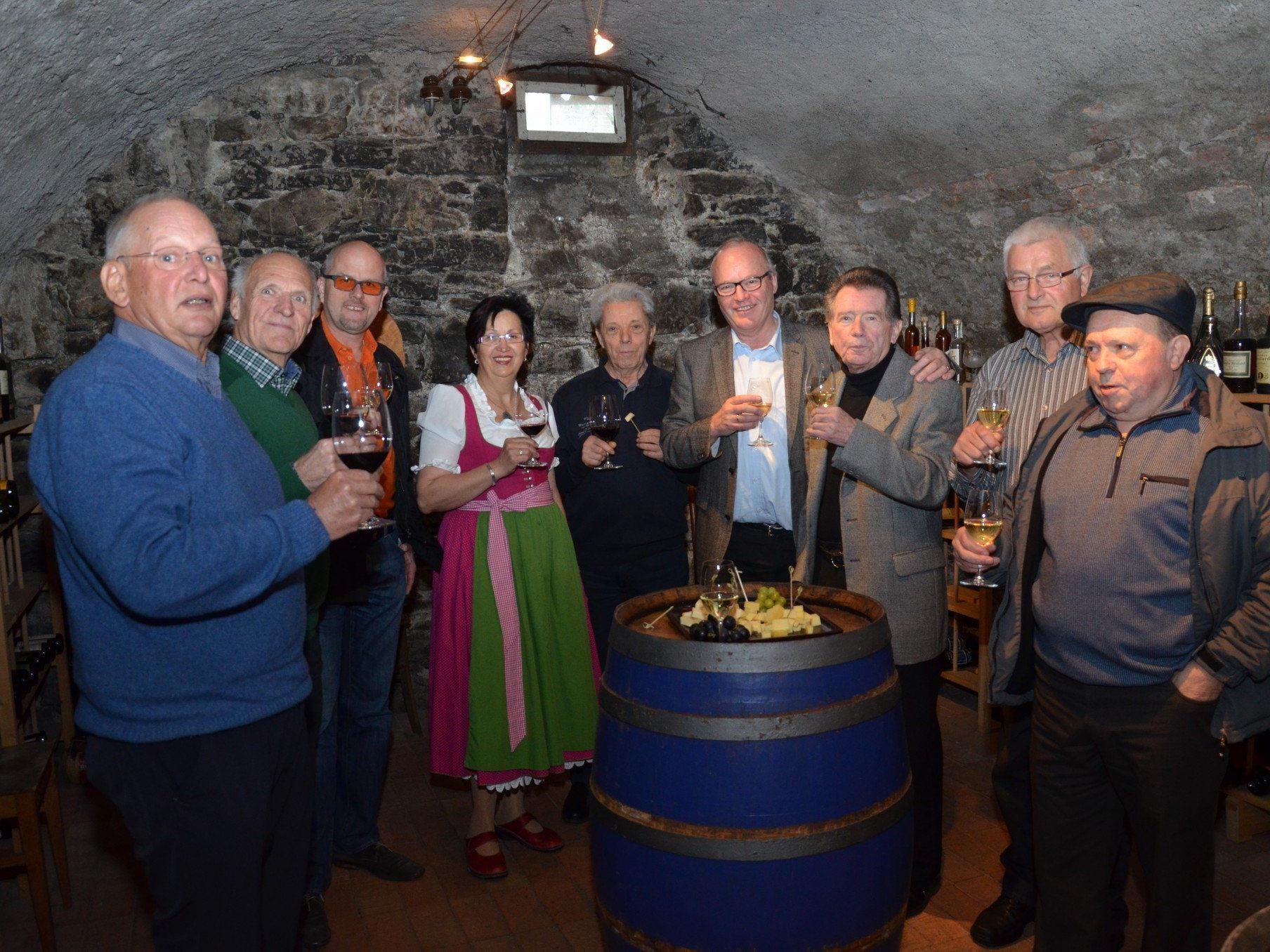 Viele kulinarische Highlights gibt es am lkoomenden Samstag in den ehrüwrdigen Kellern von Rankweil.
