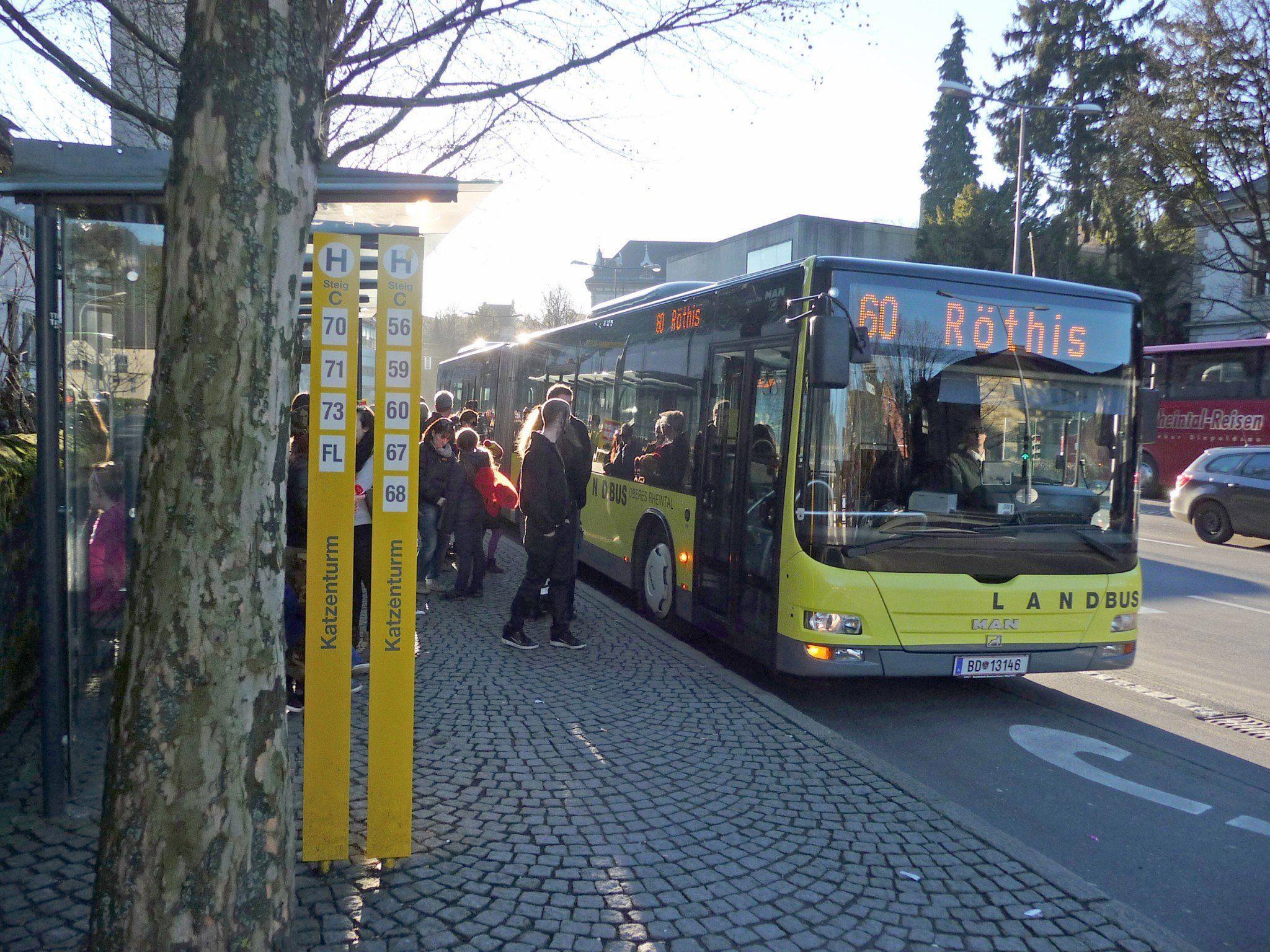Der Zuspruch für den Landbus Oberes Rheintal war auch im 20. Jubiläumsjahr steigend.