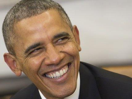 US-Präsident Obama zeigt Humor