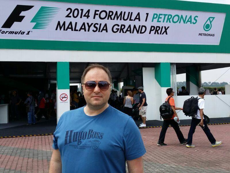 Günter Palaoro war beim Malaysia Grand Prix in Sepang mit dabei.