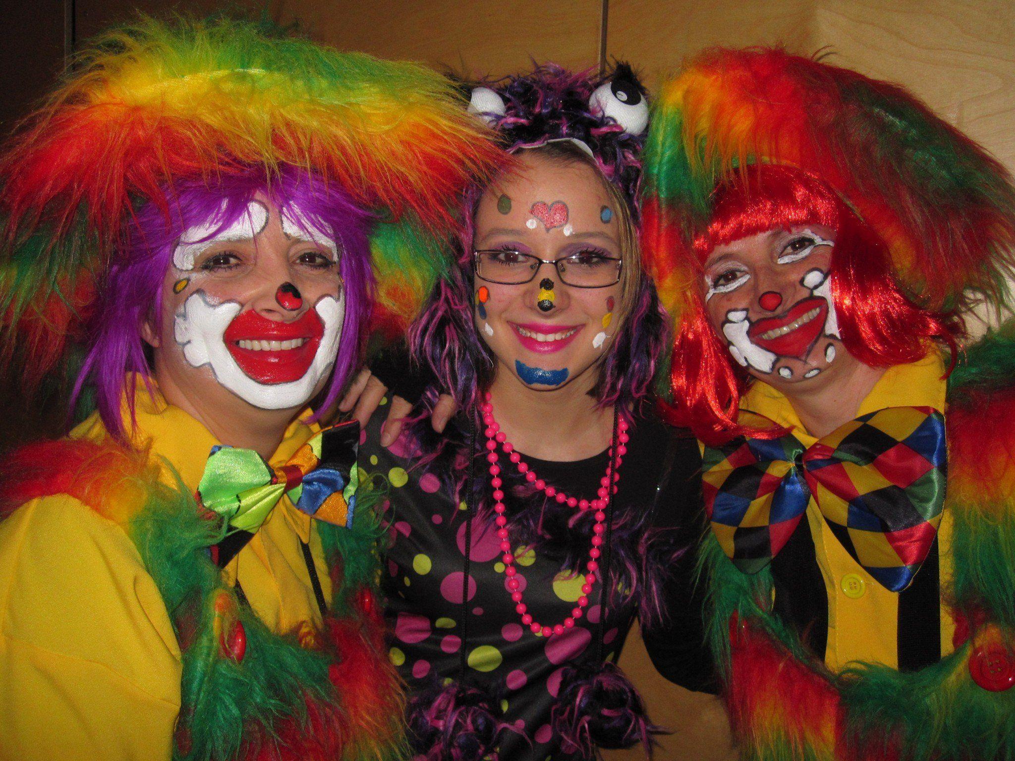 Judith, Nadine und Ruth
