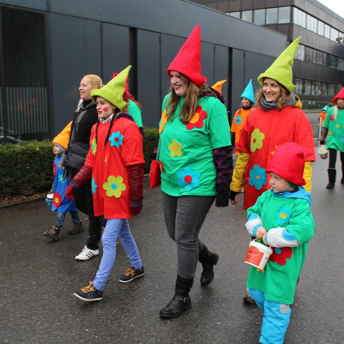 Kinderfasching in Tosters