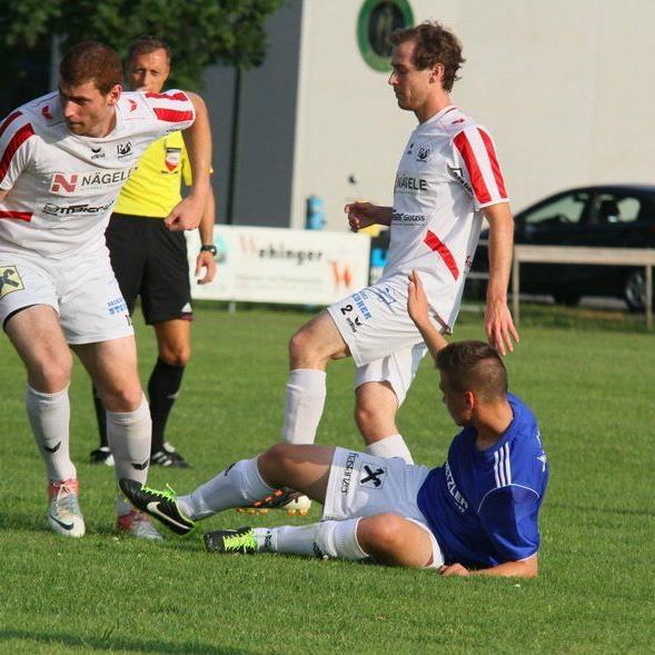 Im Testspiel stehen sich der SK Brederis und RW Rankweil gegenüber.