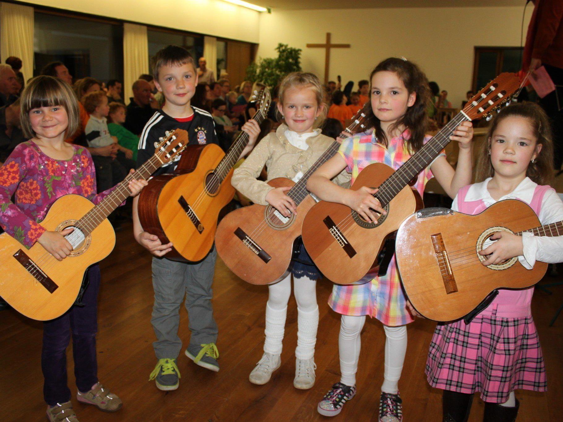 """Beim """"Zwergerl-Konzert"""" am Samstagvormittag um 10 Uhr haben die jüngsten Musikschüler ihren großen öffentlichen Auftritt."""