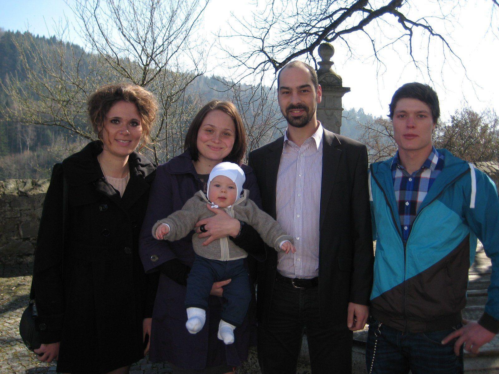 Luis Kaspar wurde getauft.