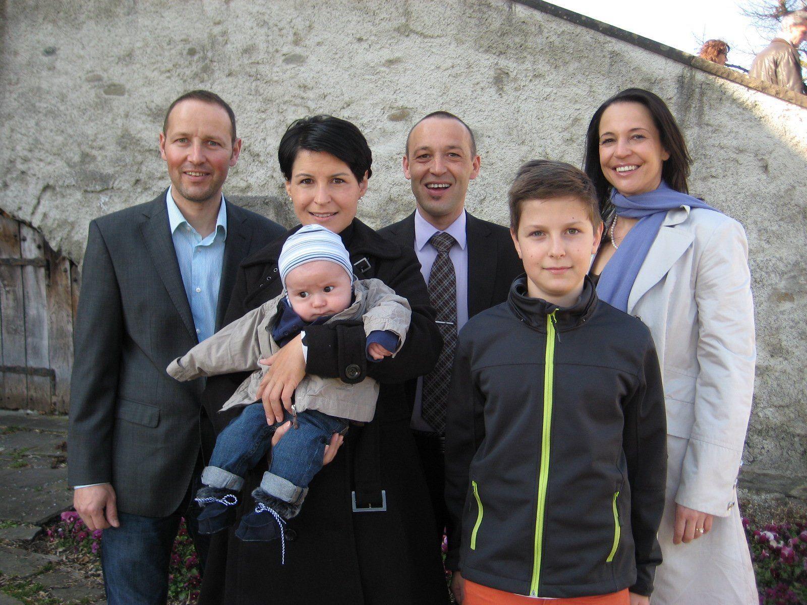 Fynn Eliah Heinzle wurde getauft.