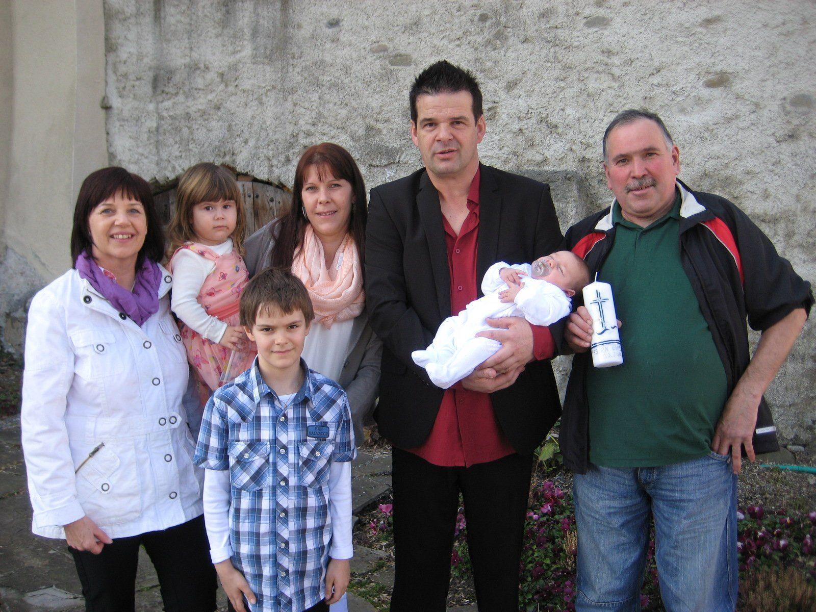Fabian Erich Tschann wurde getauft.