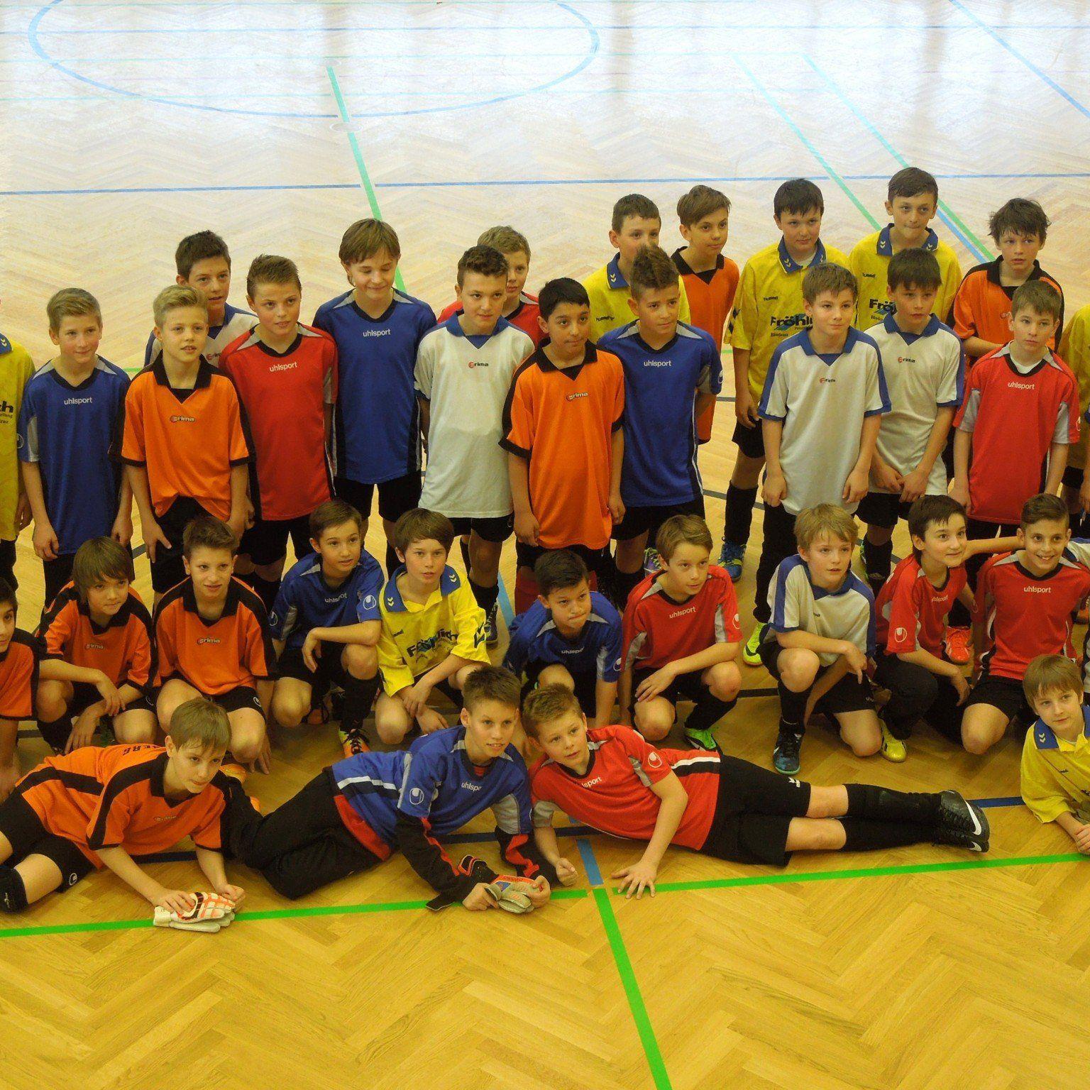 Der Jahrgang 2003 der LAZ Vorstufe Vorarlberg zeigte beim Futsal Turnier in Feldkirch sein Können.