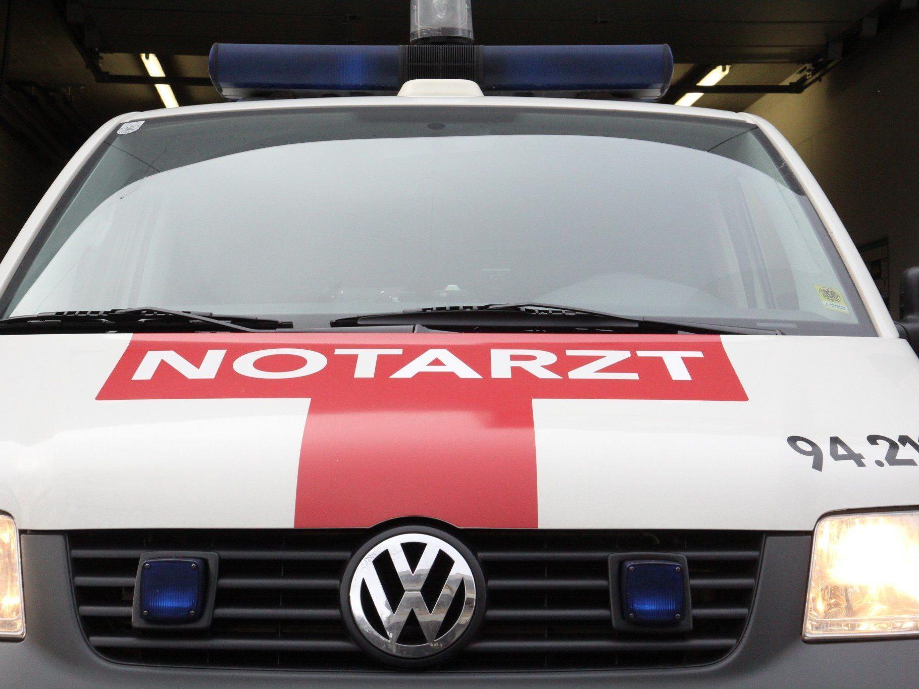 Mopedfahrer bei Auffahrunfall in Lustenau verletzt.