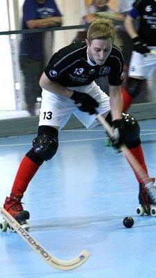 Patrick Eberle erzielte einen von sechs Treffern des RHC Wolfurt im Heimspiel gegen Bern.
