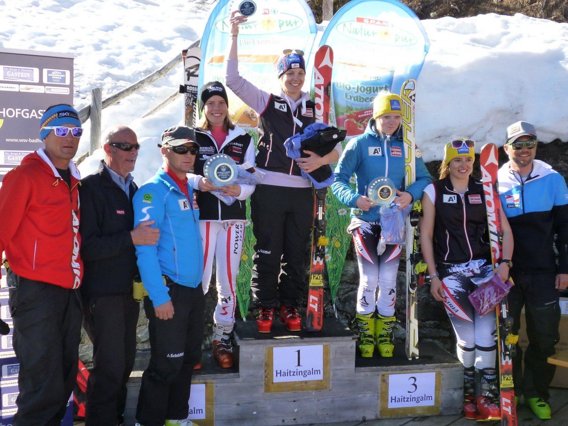 Katharina Liensberger verpasste einen Sieg in Salzburg nur hauchdünn.