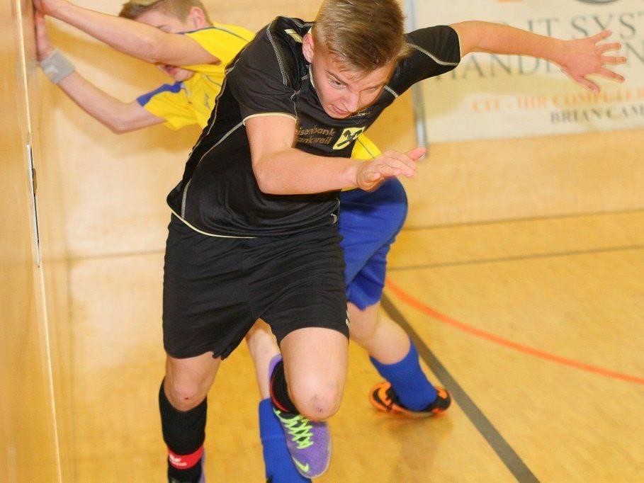 Der FC Hard gewann das U-14-Hallenturnier in Rankweil.