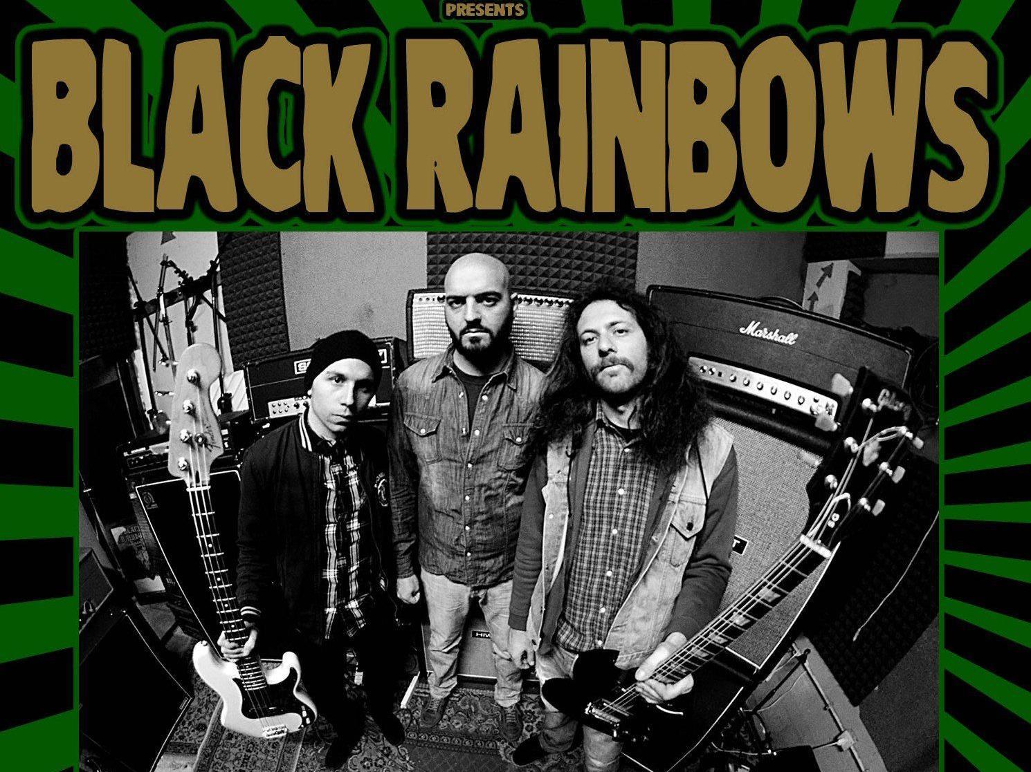Black Rainbows live in concert.