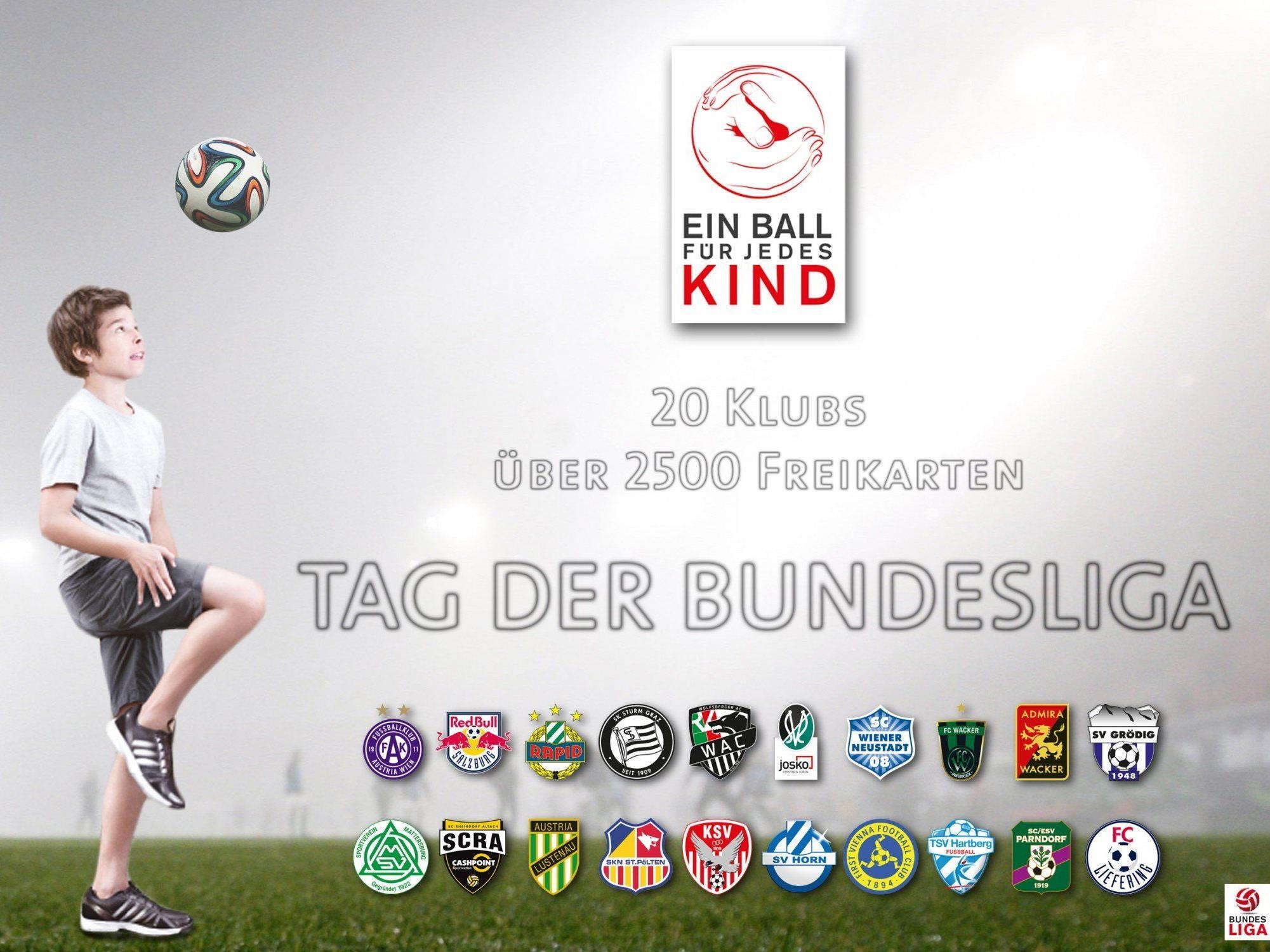 Das Heimspiel der Austria gegen Kapfenberg wird von der Bundesliga gefördert und die Jugendlichen haben Gratiseintritt.