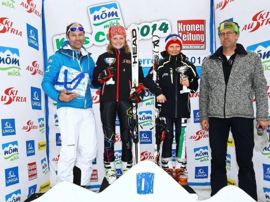 Tagessieger Kathrin Moll Valentin Lotter