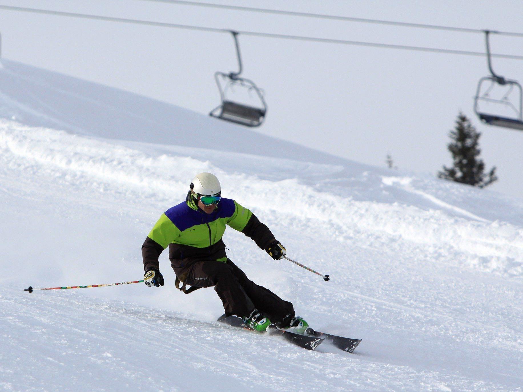 Perfekte Schneebedingungen laden in die Montafoner Bergwelt ein.