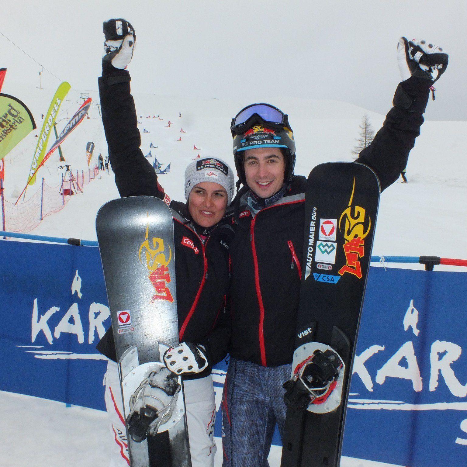 Nach seinem WC Gesamtsieg krönt sich der Montafoner zum neuen Staatsmeister im Slalom.