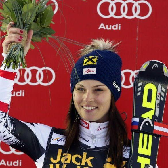 Anna Fenninger ist derzeit in Top-Form