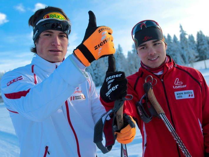 Dominik Baldauf und Aurelius Herburger beendeten ihre Saison.