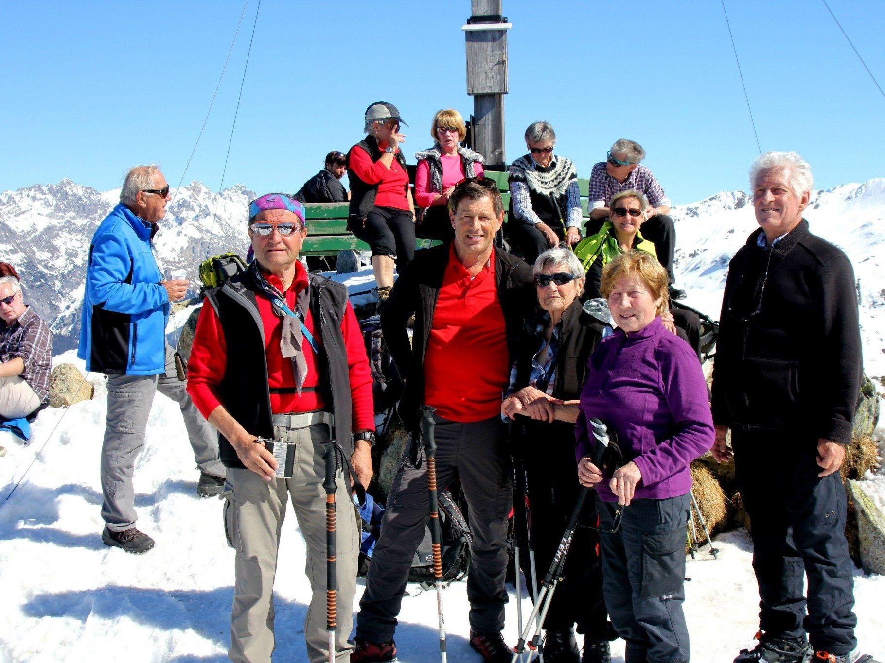 Wanderung auf den Sonnenkopf: Gruppe Berg Aktiv 55+.