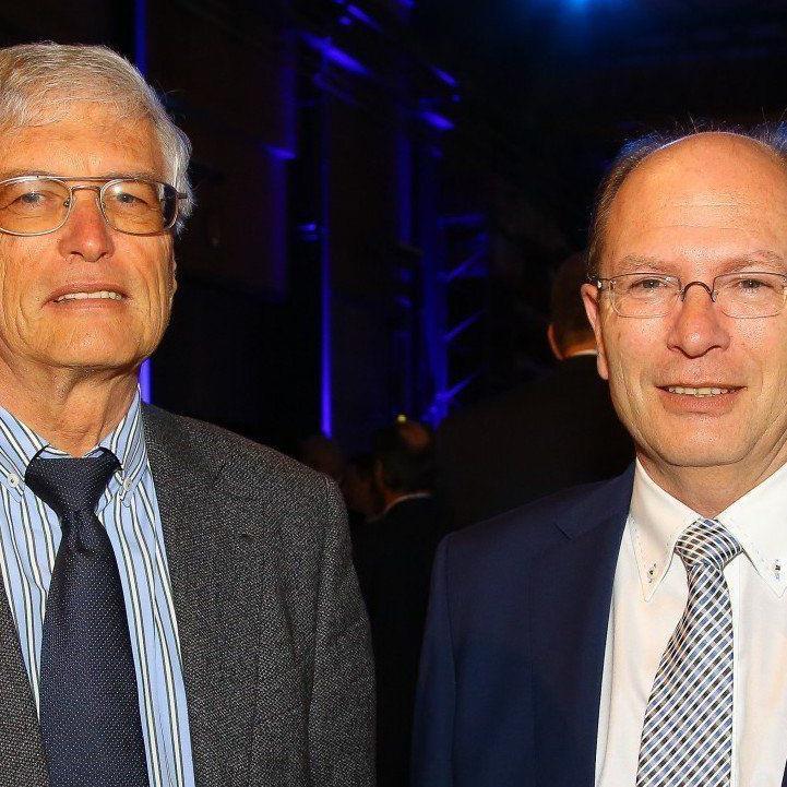 Herbert und Gerhard Blum bei den Top 100 in Hard.