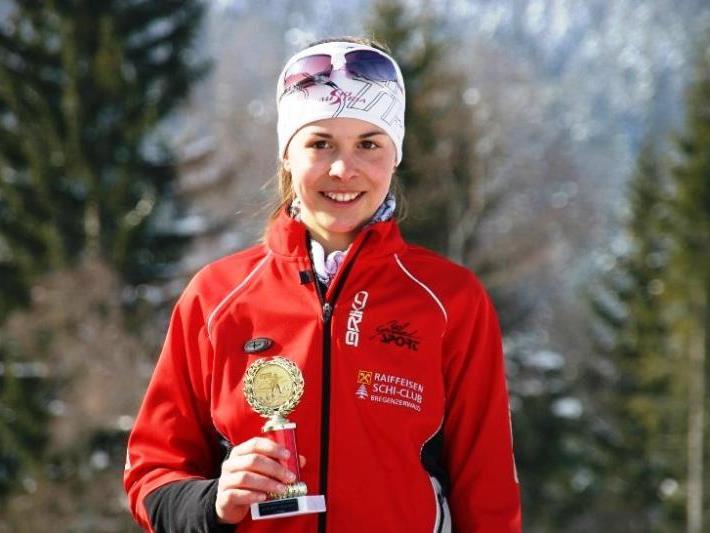 Die Schoppernauerin Magdalena Beer wurde Dritte.