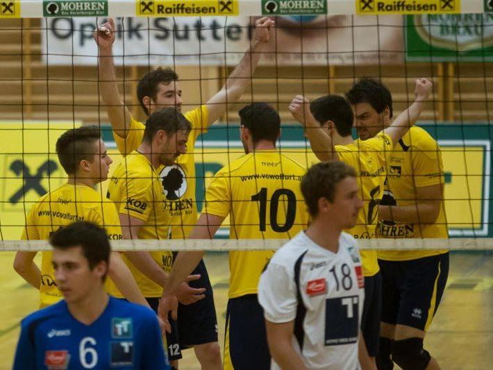 Überraschungssieg des VC Wolfurt in Innsbruck.