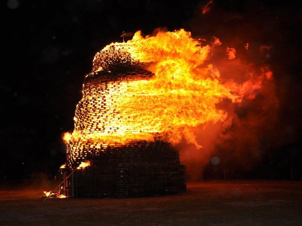 Am 8. März lodern beim Harder Funken wieder die Flammen.