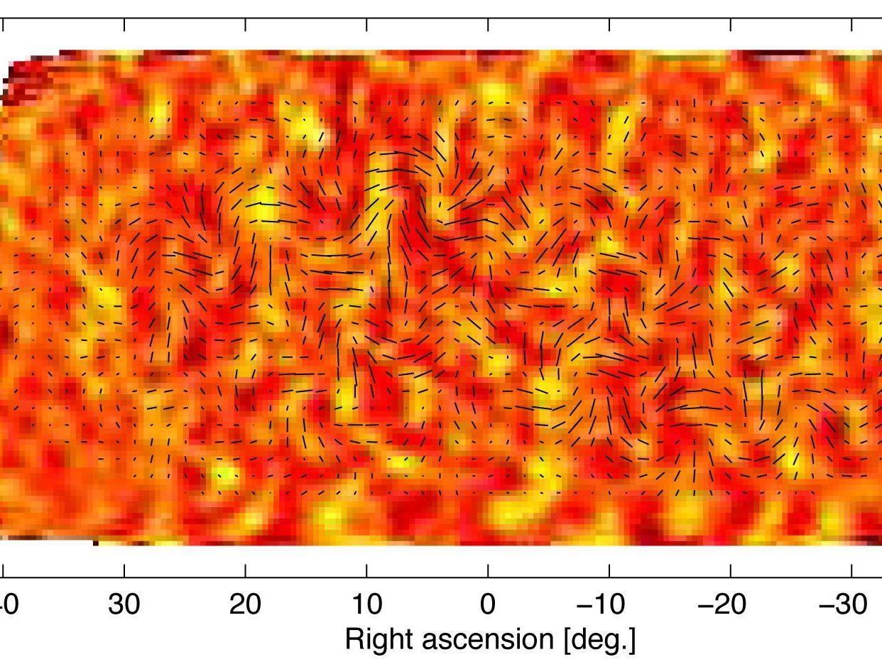 Temperaturschwankungen und kosmische Hintergrundstrahlung: Forscher sollen den ersten Beleg für das blitzartige Ausdehnen des Alls gefunden haben.