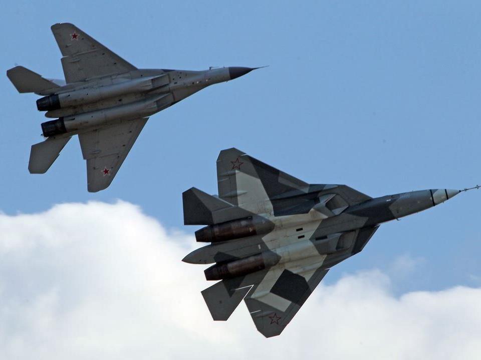 Russische Jets sind in den ukrainischen Luftraum eingedrungen.