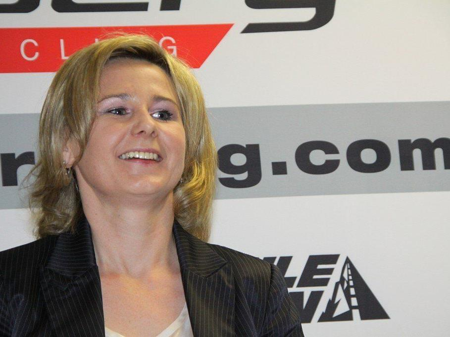 Förderverein-Obfrau Manuela Türtscher hat das Ziel mit der Unterstützung des Nachwuchses ausgegeben.