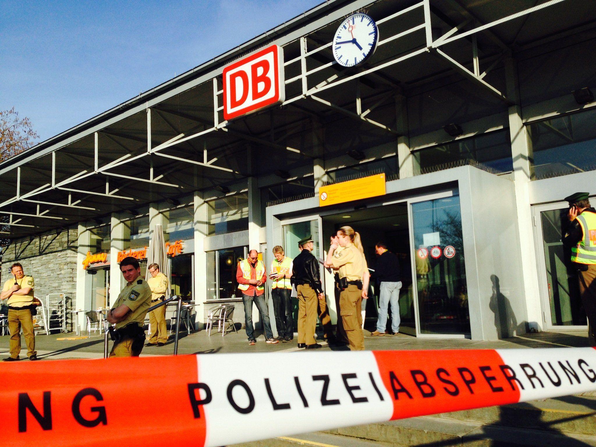 Allgäu: Polizist bei Streit in Zug nach Kempten angeschossen.