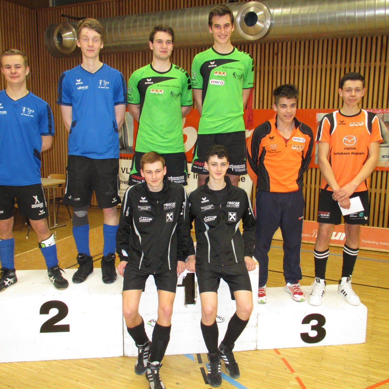 Zum zweiten Mal sicherte sich die IG Dornbirn/Höchst das EM Ticket für die Junioren Titelkämpfe.