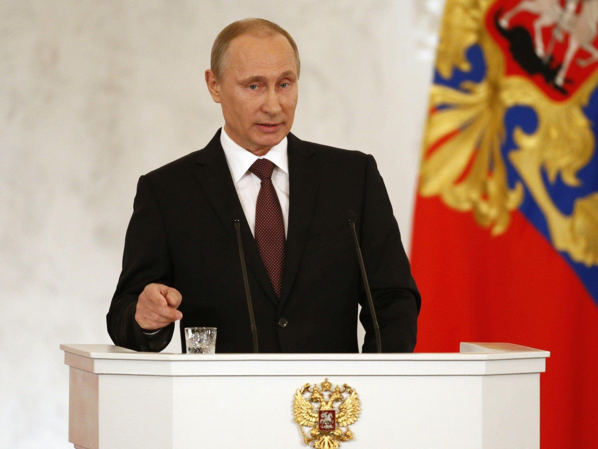 Putin will keine Spaltung oder Annexion der Ukraine - die Krim natürlich ausgenommen.
