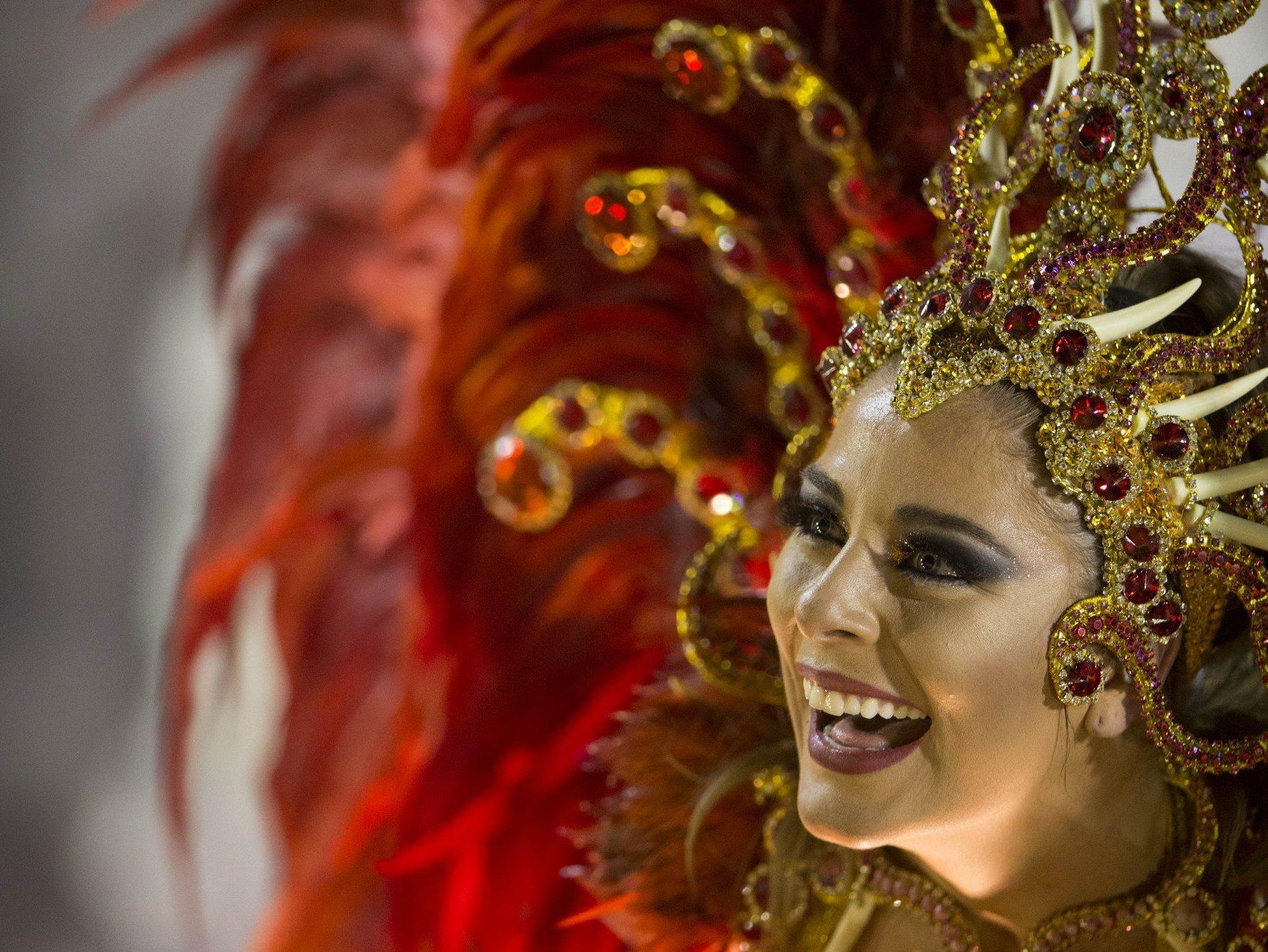 Rio de Janeiro hat das Ende des Karnevals auch heuer ausgiebig gefeiert.