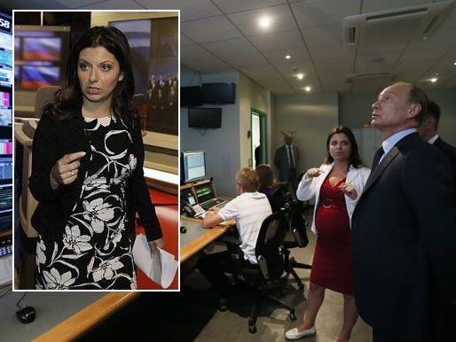 Margarita Simonyan: RT-Chefredakteurin mit Humor.