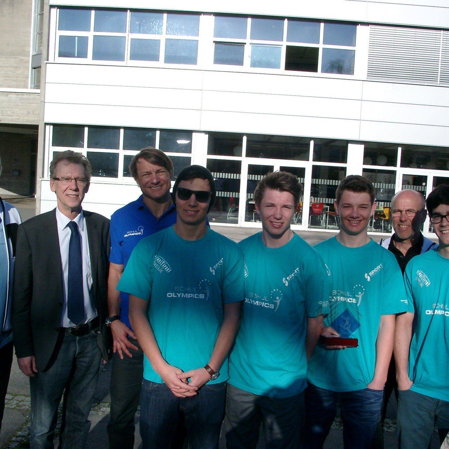 Die vier Boardercrosser waren eine Klasse für sich, Bundesmeistertitel für die HTL Schüler.