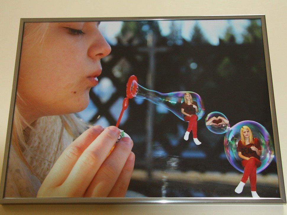 Die besten Fotos von den drei Gold-Ladies Müller, Sabo und Spöttel stellen in Rankweil ihre Bilder aus.