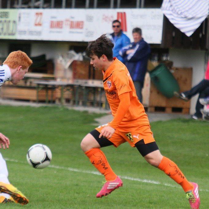 Murat Bekar erzielte aus einem Strafstoß das 3:2-Siegtor im letzten Test beim Ligakonkurrenten Röthis.