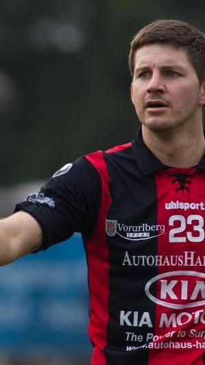FC Hard-Innenverteidiger Christoph Fleisch hofft auf einen Derbysieg gegen seinen Exklub Dornbirn.