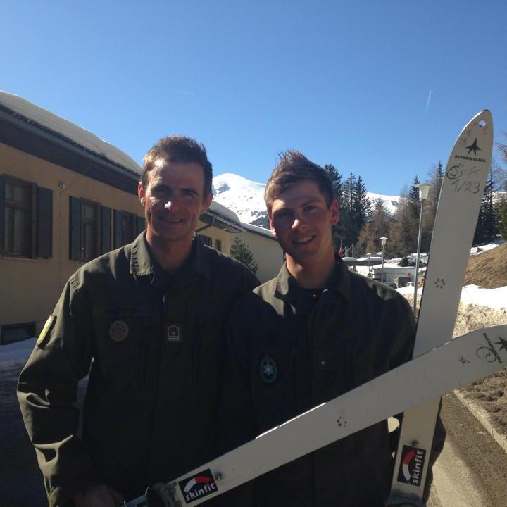 Daniel Zugg wurde vor Patrick Innerhofer österreichischer Heeresmeister im Skibergsteigen.