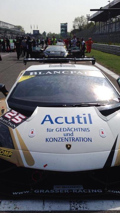 Trotz starkem Auftritt hatte Sandro Bickel beim zweiten Monza Rennen viel Pech.