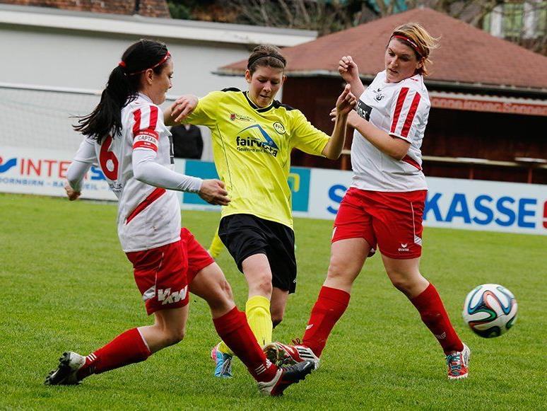 RW Rankweil 1b gewann das Viertelfinalspiel gegen Favorit FFC Vorderland mit 1:0.