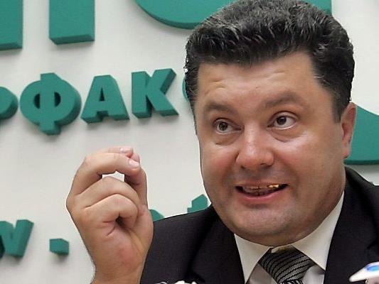 Poroschenko will Präsident werden