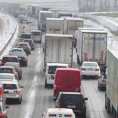 Lastwagen-Verkehr nimmt zu